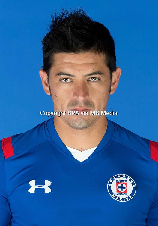 Mexico League - BBVA Bancomer MX 2014-2015 -<br /> La Maquina - Cruz Azul Fc / Mexico - <br /> Rogelio Alfredo Chavez Martinez &quot; Rogelio Chavez &quot;