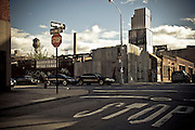 Corner of Wythe street and N9th street in Williamsburg, Brooklyn, New York, 2009.