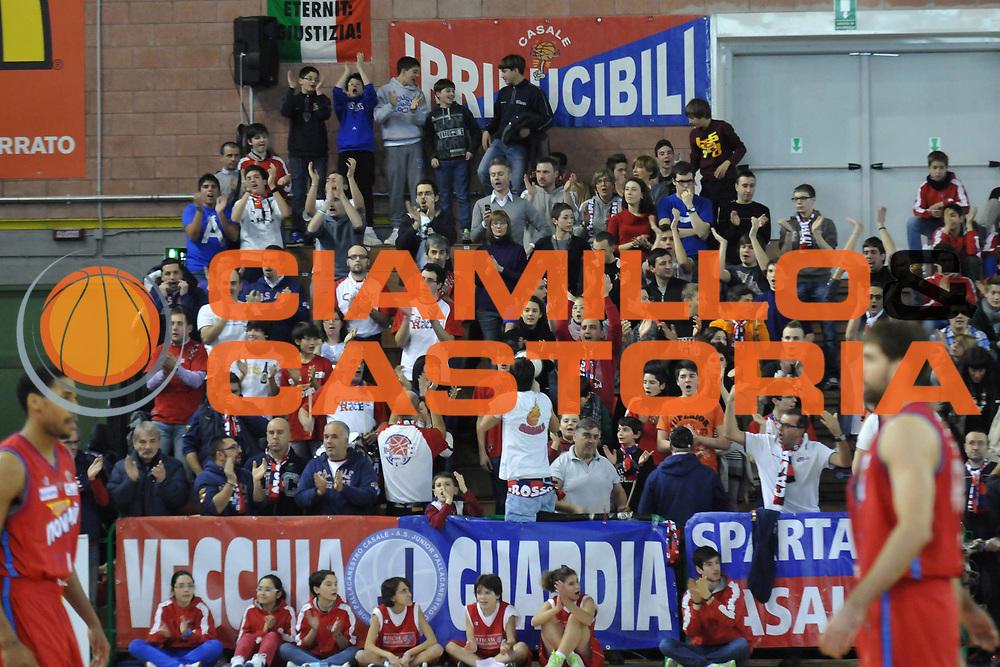 DESCRIZIONE : Casale Monferrato Lega A 2011-12 Novipiu Casale Monferrato Cimberio Varese<br /> GIOCATORE : Tifosi<br /> CATEGORIA :&nbsp;Tifosi<br /> SQUADRA : Novipiu Casale Monferrato<br /> EVENTO : Campionato Lega A 2011-2012<br /> GARA : Novipiu Casale Monferrato Cimberio Varese<br /> DATA : 04/02/2012<br /> SPORT : Pallacanestro<br /> AUTORE : Agenzia Ciamillo-Castoria/L.Lussoso<br /> Galleria : Lega Basket A 2011-2012<br /> Fotonotizia :&nbsp;Casale Monferrato Lega A 2011-12 Novipiu Casale Monferrato Cimberio Varese<br /> Predefinita :