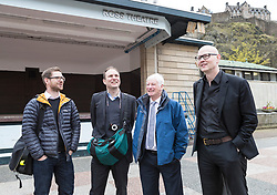 International architects fly in to Edinburgh for their first sight of West Princes Street Gardens as they compete to design a new venue to replace the Ross Bandstand.<br /> <br /> Chair Norman Springford and Project Manager David Ellis from the Ross Development Trust provide visiting teams with a tour of the Gardens and existing Bandstand site.<br /> <br /> A competition to replace the Ross Bandstand in the heart of Edinburgh's West Princes Street Gardens with a new landmark Pavilion has received worldwide interest from architects and designers.<br /> <br /> Entries from 125 teams spanning 22 countries and made of 400 individual firms have been narrowed down to seven finalists. <br /> <br /> The seven finalists will be invited to create concept designs for the £25m project brief, which includes a new landmark venue to replace the bandstand, a visitor centre and subtle updates to West Princes Street Gardens.<br /> <br /> Each of the finalist teams will be led by the following architects:<br /> <br /> - Adjaye Associates (UK)<br /> - BIG Bjarke Ingels Group (Denmark)<br /> - Flanagan Lawrence (UK)<br /> - Page \ Park Architects (UK)<br /> - Reiulf Ramstad Arkitekter (Norway)<br /> - wHY (USA)<br /> - William Matthews Associates (UK) and Sou Fujimoto Architects (Japan)<br /> <br /> Pictured: