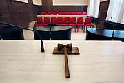 Nederland, Nijmegen, 24-6-2007Rechtszaal van het kantongerecht. rechter, justitie.Foto: Flip Franssen/Hollandse Hoogte