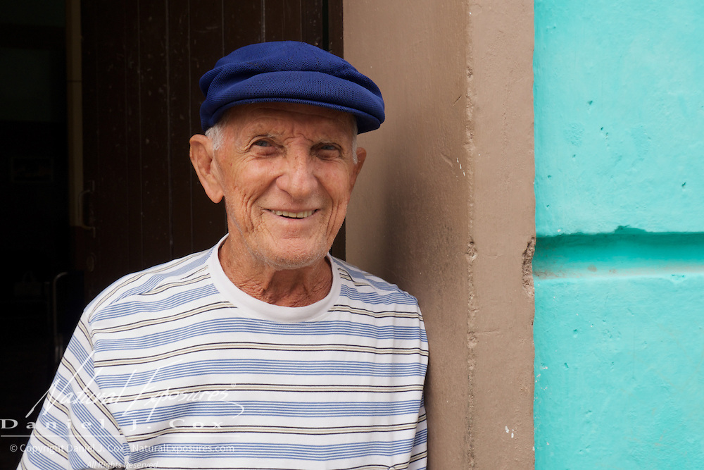 An older gentleman on the streets of Ceinfuegos, Cuba