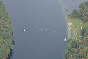 Hanover, USA, flying [Ariel Photos]  over the Connecticut River, as Dartmouth College train, New Hampshire 15/10/2007  [Mandatory Credit Peter Spurrier/Intersport Images].....