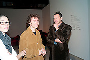 MAISIE ROWE; THOMAS HEATHERWICK; TOM DIXON, Ron Arad; Restless. Cocktail reception hosted by Kate Bush of the Barbican and Tony Chambers of Wallpaper magazine. Barbican art Gallery. London. 17 September 2010