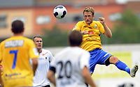 Fotball<br /> 09.08.2014<br /> Oddsenligaen / Andredivisjon<br /> Asker v Jerv 3:3<br /> Foto: Morten Olsen, Digitalsport<br /> <br /> Christopher MacConnancher (8) - Jerv