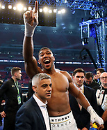 Anthony Joshua v Wladimir Klitschko - 29 April 2017