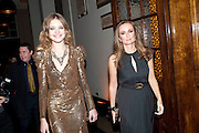 NATALIA VODIANOVA; LUCY YEOMANS, Harpers Bazaar Women of the Year Awards. North Audley St. London. 1 November 2010. -DO NOT ARCHIVE-© Copyright Photograph by Dafydd Jones. 248 Clapham Rd. London SW9 0PZ. Tel 0207 820 0771. www.dafjones.com.
