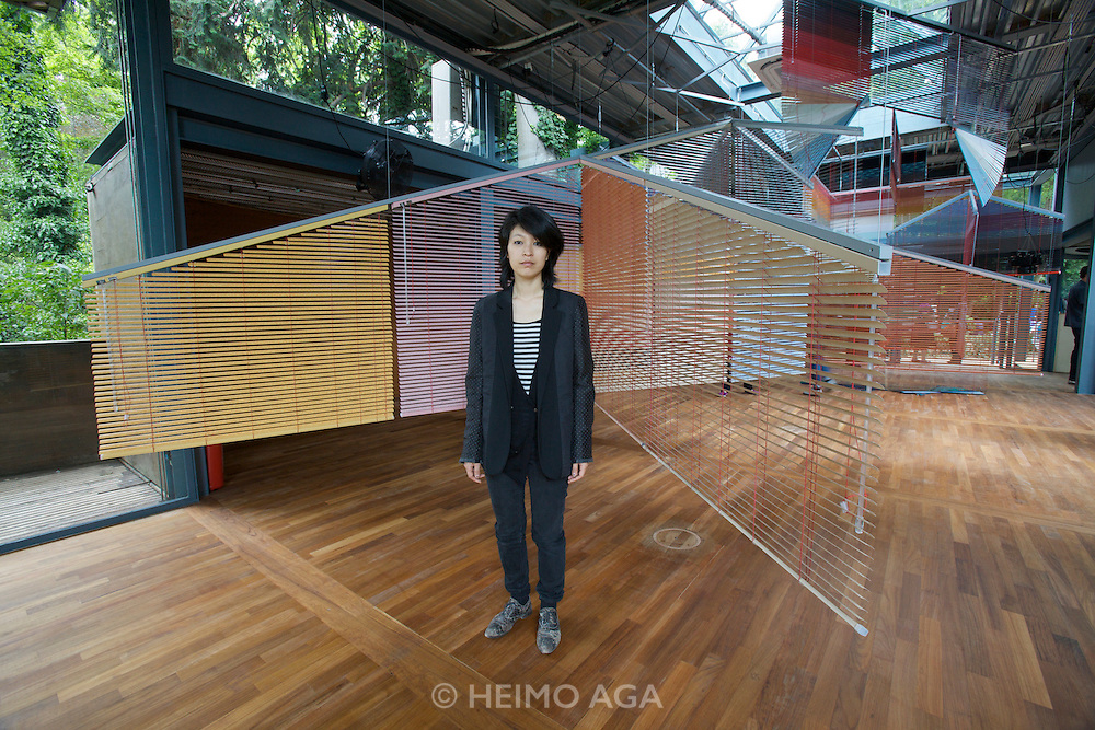 Korean Pavillion. Haegue Yang (m.).Commissioner: Eungie Joo.