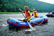 New Jersey, Northeast, Rafting on Delaware River.