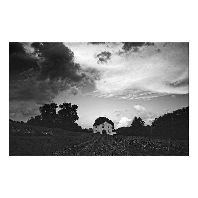 Summer's Fading Light , Pete's Farm Stand © Ed Hille 2014
