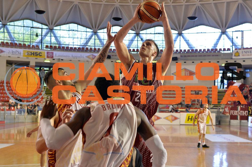 Lorenzo Benvenuti<br /> Unicusano Virtus Roma - FMC Ferentino<br /> Campionato Basket LNP 2016/2017<br /> Roma 15/04/2017<br /> Foto M.Ceretti / Ciamillo-Castoria