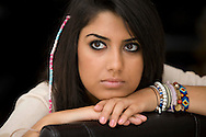JAMES BOARDMAN / 07967642437.Natasha Bidjanzad 18 who is appealing against the C grade she got in History A level.