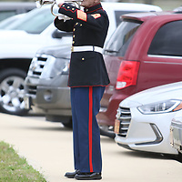 Bob Verell plays Taps Saturday during the Operation Grateful Nation