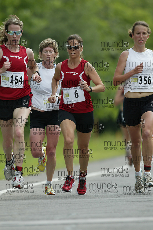 (Ottawa, Ontario---20/06/09)    LIZ MAGUIRE competing in the 2009 edition of Emilie's Run 5km race for women in Ottawa. Copyright photograph Sean Burges / Mundo Sport Images, 2009. www.mundosportimages.com / www.msievents.