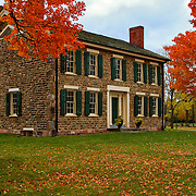 &quot;Cobblestone Farm in Fall&quot;<br />