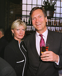 MR & MRS CHARLES DELEVINGNE, she is the daughter of Sir Jocelyn Stevens, at a party in London on 29th April 1999.MRO 112