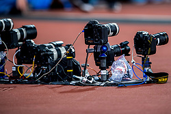 08-08-2017 IAAF World Championships Athletics day 5, London<br /> Nikon, Canon, camera, remote, start finish, sony item media