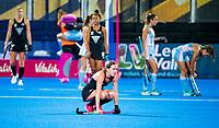 Londen - Argentinie wint   tijdens de cross over wedstrijd Argentinie-Nieuw Zeeland (2-0)  bij het WK Hockey 2018 in Londen . Teleurstelling bij Nzl.  COPYRIGHT KOEN SUYK