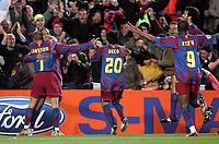 7/3/2006.BARCELONA.SPAIN.CHAMPIONS LEAGUE .BARCELONA V CHELSEA.RONALDINHO CELE GOAL<br /> PIC DAVE SHOPLAND