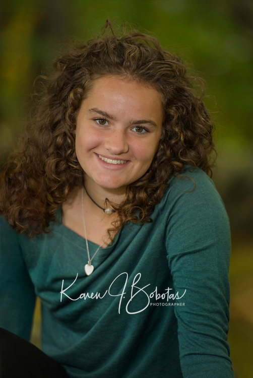 Nicole T senior portrait session.  ©2019 Karen Bobotas Photographer