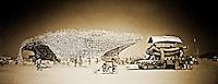 """Belgian Waffle"", art work from Burning Man"