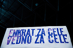Feature during handball match between RK Celje Pivovarna Lasko and RK Croatia Osiguranje Zagreb in Round 7 of Group A of EHF Men's Champions League 2013/14, on November 30, 2013 in Arena Zlatorog, Celje, Slovenia. Photo by Vid Ponikvar / Sportida