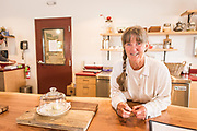 Suzy Wechsler, co-owners and operator of Samish Bay Cheese