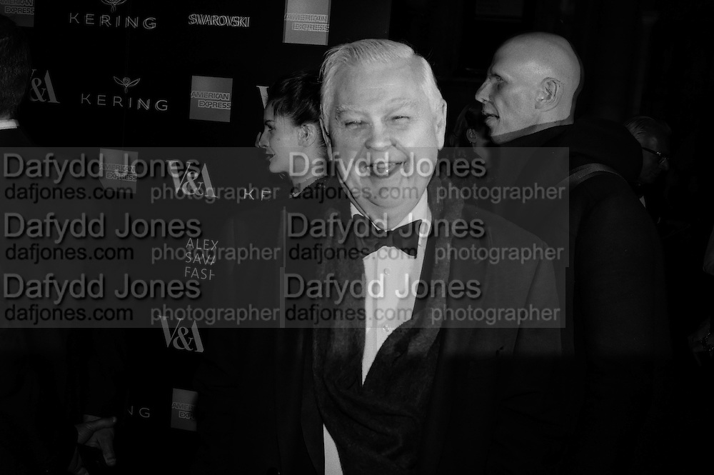 LORD NORMAN LAMONT, Alexander McQueen: Savage Beauty Gala, Victoria and Albert Museum, and A. 12th March 2015