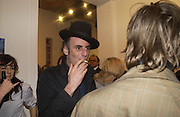 James Mullord , Babyshambles Exhibition , Photographs by Danny Clifford <br />The Old Sony Ericsson Proud Galleries, Greenland St. Camden, London  5 December  2005. ONE TIME USE ONLY - DO NOT ARCHIVE  © Copyright Photograph by Dafydd Jones 66 Stockwell Park Rd. London SW9 0DA Tel 020 7733 0108 www.dafjones.com