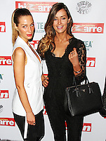 Olivia Newman-Young & Francesca Newman-Young, Dan Wootton's Bizarre Annual 2015, Steam & Rye, London UK, 02 March 2015, Photo By Brett D. Cove