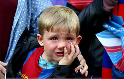 A Crystal Palace looks upset after seeing his team lose in the FA Cup Final - Mandatory by-line: Robbie Stephenson/JMP - 21/05/2016 - FOOTBALL - Wembley Stadium - London, England - Crystal Palace v Manchester United - The Emirates FA Cup Final