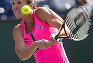 Tennis: BNP Paribas Open 2015 Jelena Jankovic vs Lesia Tsurenko