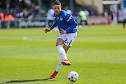 Bristol Rovers Daniel Leadbitter warming up prior to the match during the Sky Bet League 2 match between Bristol Rovers and Exeter City at the Memorial Stadium, Bristol, England on 23 April 2016. Photo by Shane Healey.
