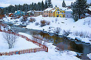 Winter in Truckee California