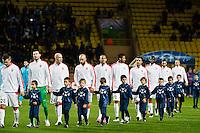 Equipe Monaco - 09.12.2014 - Monaco / Zenith St Petersbourg - Champions League<br /> Photo : Serge Haouzi / Icon Sport