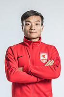 **EXCLUSIVE**Portrait of Chinese soccer player Yan Zhiyu of Changchun Yatai F.C. for the 2018 Chinese Football Association Super League, in Wuhan city, central China's Hubei province, 22 February 2018.
