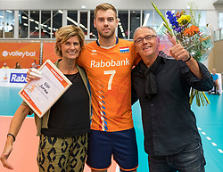08-09-2018 NED: Netherlands - Argentina, Ede<br /> Second match of Gelderland Cup / Gijs Jorna #7 of Netherlands