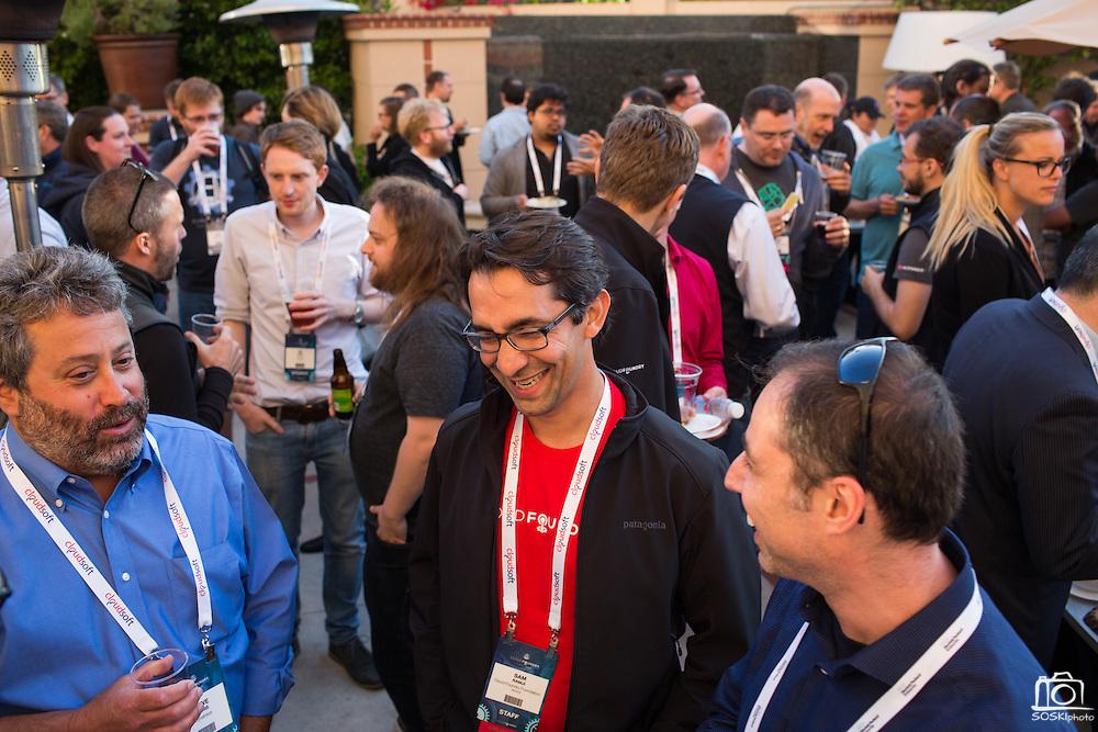 The Linux Foundation hosts its Cloud Foundry Summit at the Santa Clara Convention Center in Santa Clara, California, on May 24, 2016. (Stan Olszewski/SOSKIphoto)
