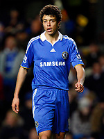 Fotball<br /> England<br /> Foto: Colorsport/Digitalsport<br /> NORWAY ONLY<br /> <br /> Chelsea's Argentinian player Franco Di Santo. Chelsea  Vs Southend United F A CUP 3rd Round  at  Stamford Bridge Stadium. 03/01/2009.
