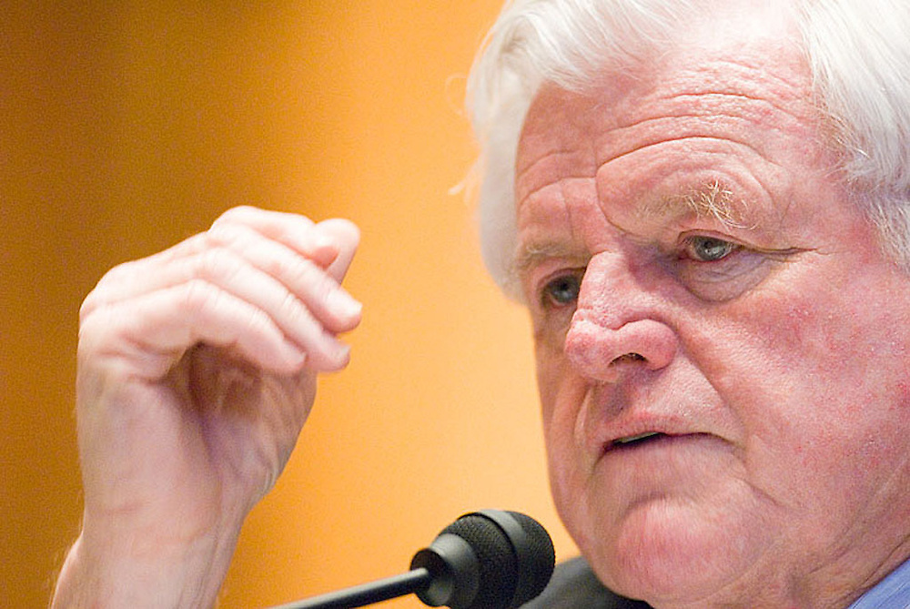 "Sen. Edward M. Kennedy at the roundtable on ""Health Care Coverage and Access: Challenges and Opportunities"" at the US Senate Committee on Health, Education, Labor and Pensions Wednesday, January 10, 2007"