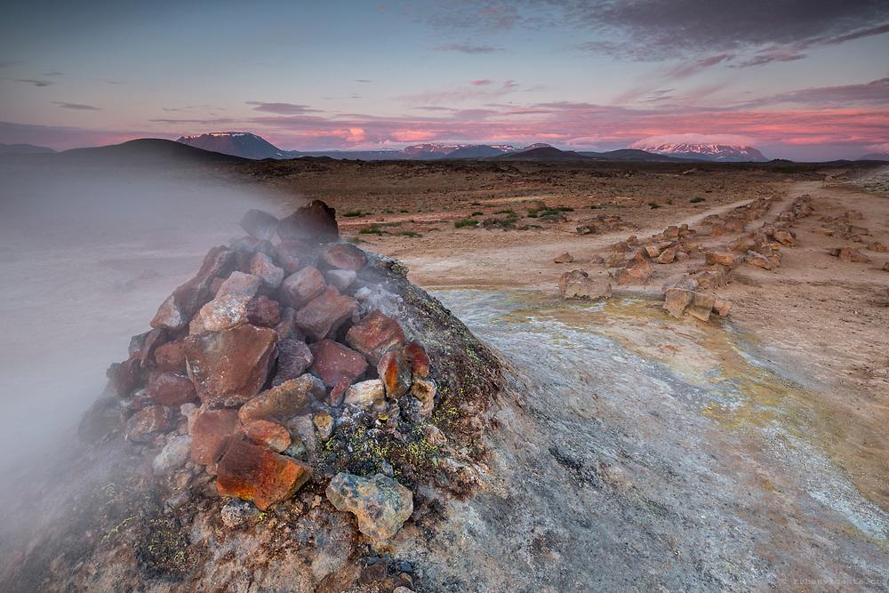 Hverir fumarole. Iceland