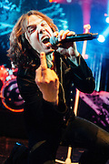 Joey Tempest/Europe performing live at the O2 Academy concert venue in Bournemouth, UK on February 22, 2011
