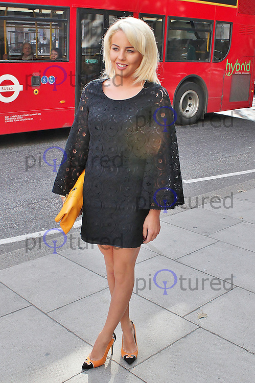 LONDON - October 06: Lydia Rose Bright at The Look Show 2012 (Photo by Brett D. Cove)