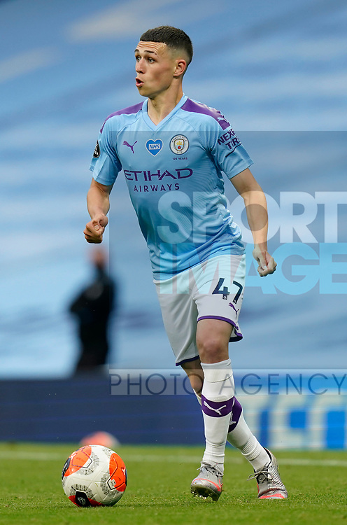 Phil Foden of Manchester City during the Premier League match at the Etihad Stadium, Manchester. Picture date: 22nd February 2020. Picture credit should read: Andrew Yates/Sportimage