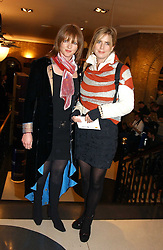 Left to right,        and actress IMOGEN STUBBS at the 2004 Whitbread Book Awards held at The Brewery, Chiswell Street, London EC1 on 25th January 2005.<br />