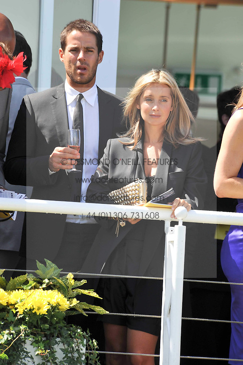 Centre, JAMIE & LOUISE REDNAPP at the 3rd day of the 2009 Glorious Goodwood racing festival held at Goodwood Racecourse, West Sussex on 30th July 2009.