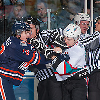 122815 Kamloops Blazers at Kelowna Rockets