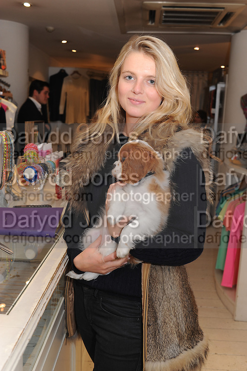CHARLOTTE WOODROFFE; MOLLY, The Space, Pop-up shop, Austique, 330 Kings Road, London, 13 February 2013.