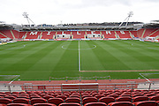 Rotherham United Aesseal New York Stadium before  the Sky Bet Championship match between Rotherham United and Leeds United at the New York Stadium, Rotherham, England on 2 April 2016. Photo by Ian Lyall.