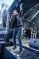 Die Happy beim Lammer Open Air 2014 in Lamme, Braunschweig am 23.August 2014. Foto: Rüdiger Knuth
